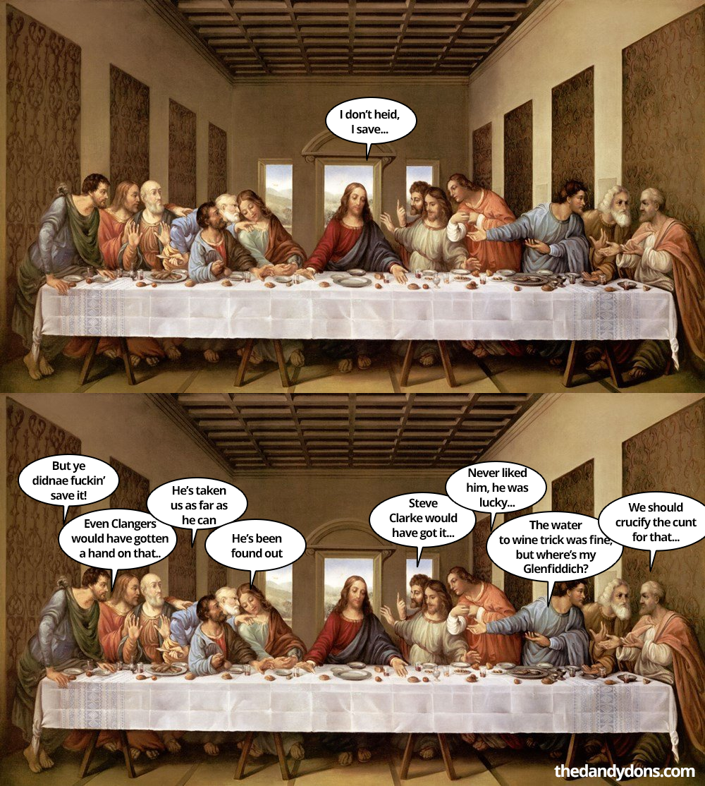 easter last supper three