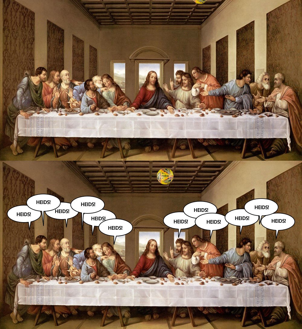 easter last supper one