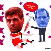 Steven Gerrard the Rangers