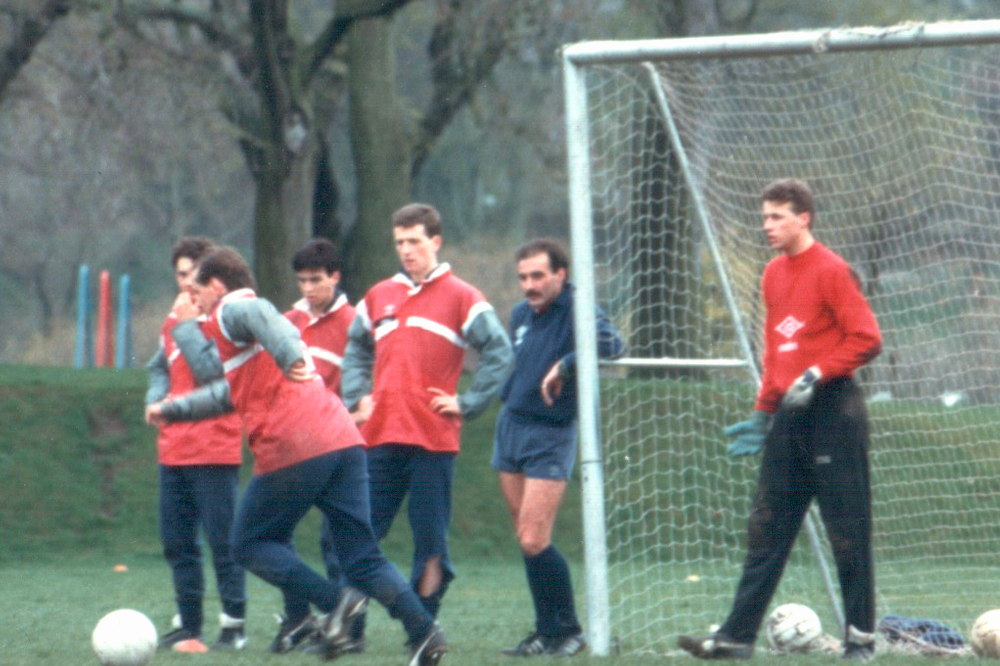 willie miller aberdeen training
