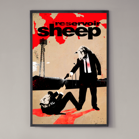 reservoir sheep poster