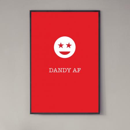 dandy-af-poster