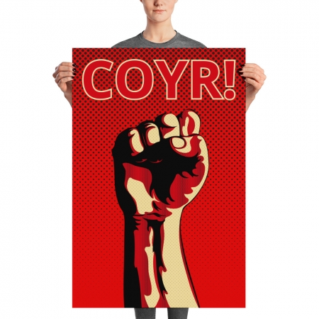 Aberdeen fist COYR poster