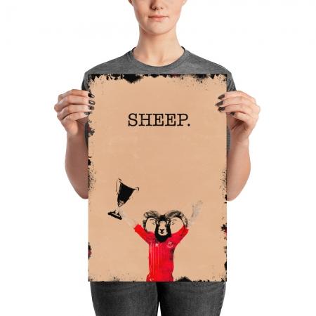 Sheep Aberdeen FC poster