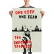 One city one team aberdeen poster