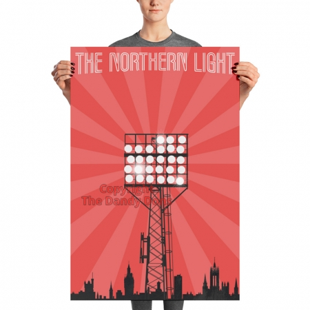 northern light floodlight poster