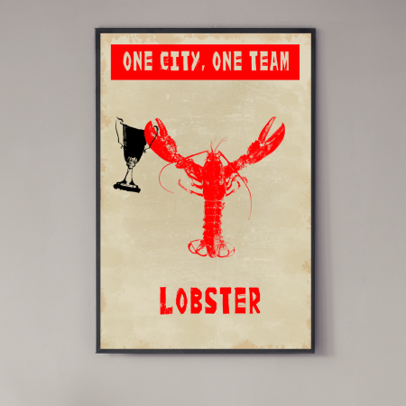 one-city-one-team-lobster-poster