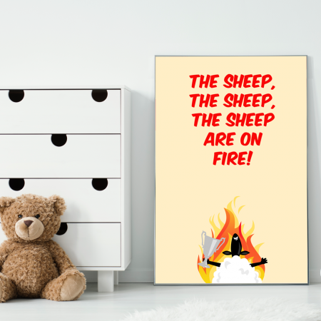sheep-on-fire-poster