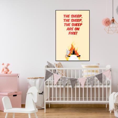 sheep-on-fire-kids-poster-aberdeen