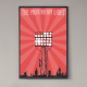 the northern light floodlight poster