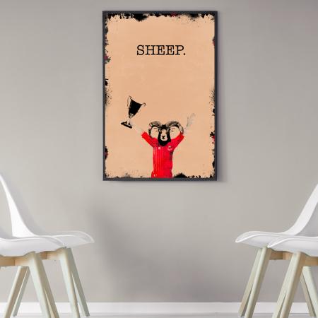 willie-miller-sheep-aberdeen-poster