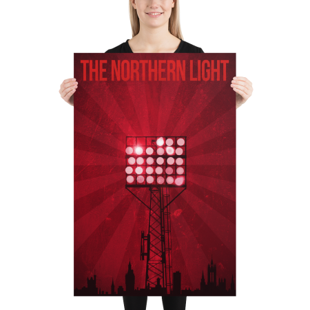 Pittodrie floodlight poster