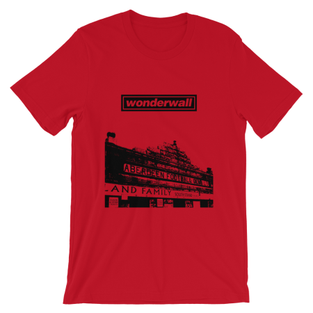 t-shirt-wonderwall-Red