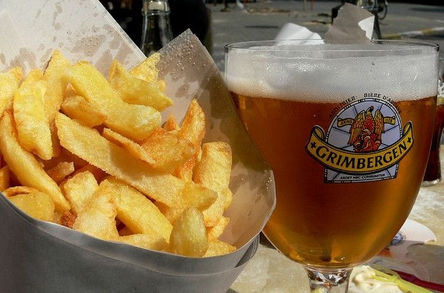 beer fries